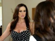 Busty mommy Kendra Lust and Casey Calvert
